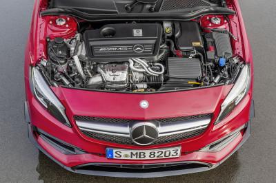Nuevas motorizaciones el la Clase A de Mercedes.