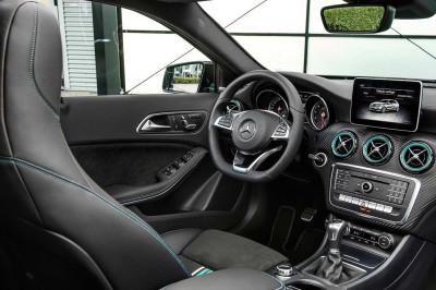 Vista del salpicadero del Mercedes Case A